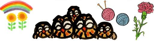 毛利達男 母の日絵柄