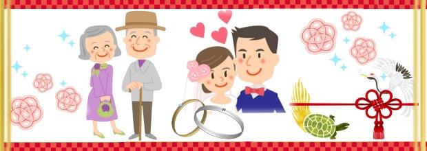 結婚記念日・銀婚式・金婚式特集トップ