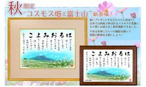 2017コスモス畑と富士山