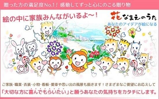 TOPページ「花なまえの詩」
